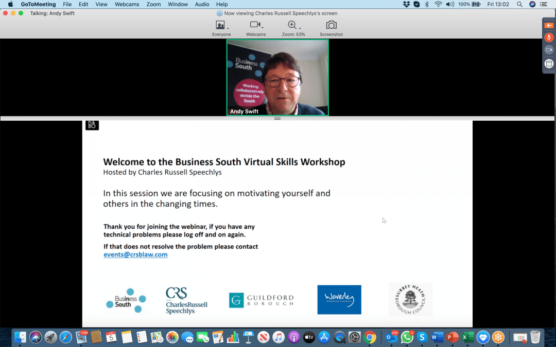 Business South holds the second in its 2020 series of Virtual Skills Workshops